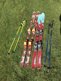 Skis and poles  Brant, N0E 1A0
