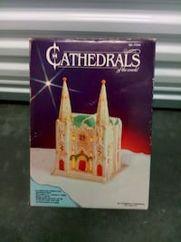Cathedrals of the world Christmas display Lake Forest