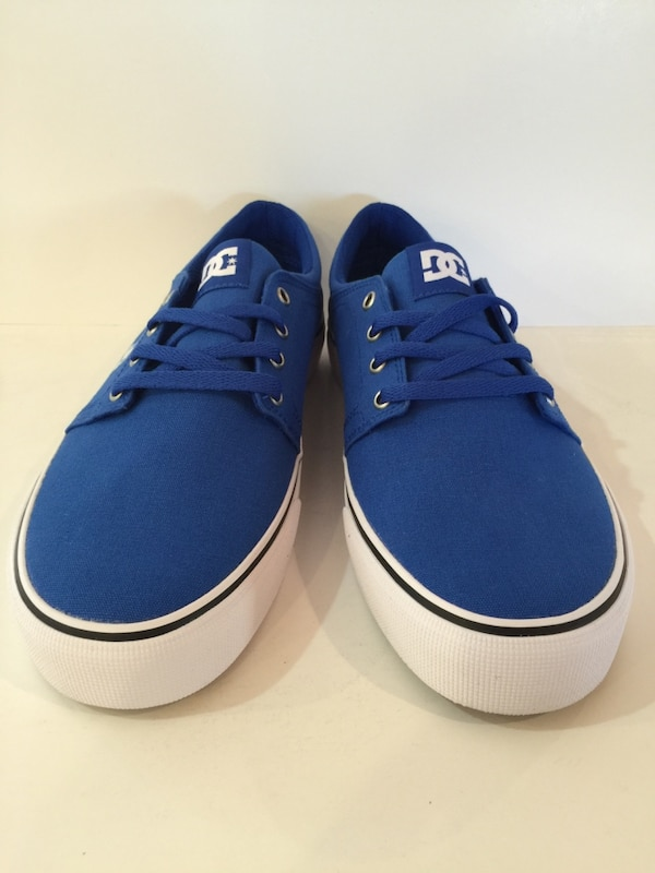 294035037967e Used DC TRASE TX Men s Skate Shoes size 7.5 Royal Blue for sale in ...