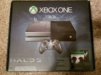 Xbox One 1TB Console - Limited Edition Halo 5 Willow Park, 76087