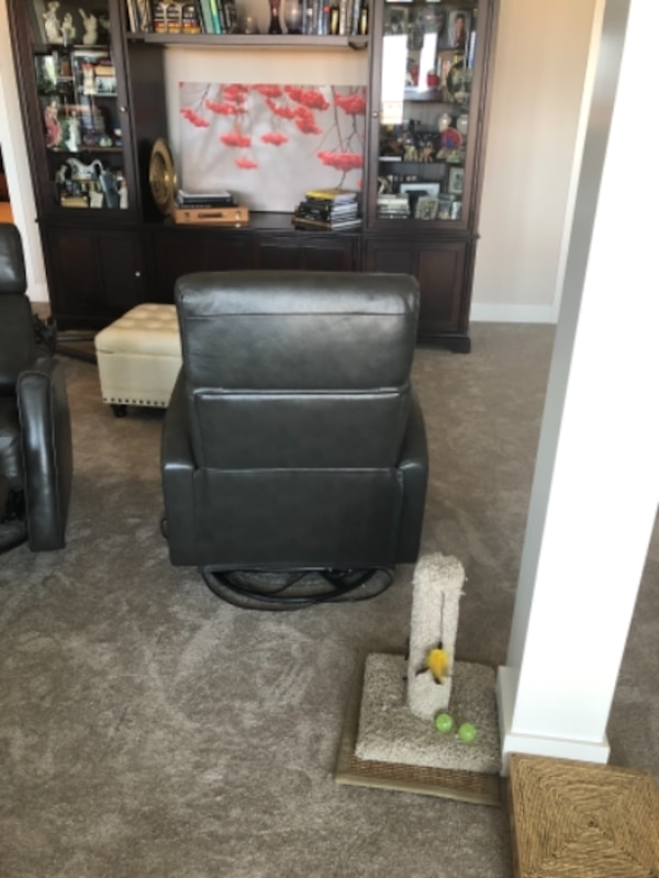 2 Leather Power Recliners