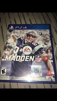 Madden 17 for PS4 Bakersfield, 93313