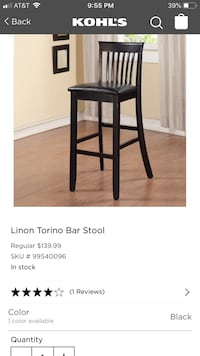 Bar stool Beckley, 25801