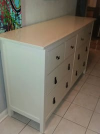 White Ikea Hemnes dresser Missouri City, 77489