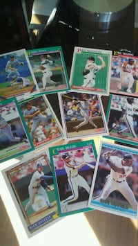assorted baseball player trading cards London, N5W