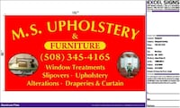 Reupholstery  reupholstery and Windows treatment and accessories  Brockton, 02302
