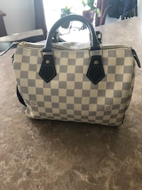 Damier azur louis vuitton leather tote bag Purcellville, 20132
