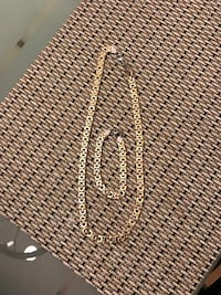 silver-colored chain necklace Gibsonton, 33534