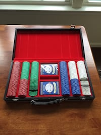 Poker Chips Set (w/Carrying Case) Fort Washington