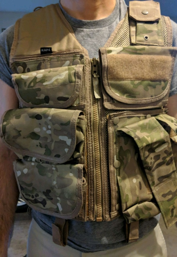 Lightly used paintball equipment