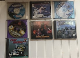 Lot of 7 Video Games / $35