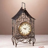 Metal Wire House Clock Markham, L3P 1C1