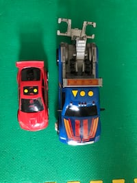 Towing truck toy