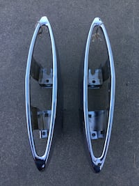 1970 1972 Cadillac fleetwood chrome tail light housing.. like new been rechromed . Surrey