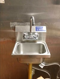 stainless steel sink with faucet Shelton, 06484