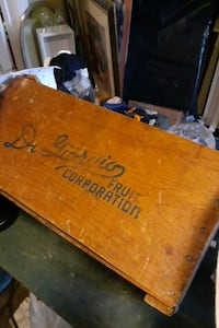 Sale Moving  in 2 Wks!!Antique FRUIT Box