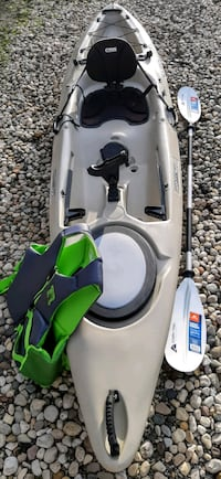 Perception Pescador Sport sit-on-top Kayak with Accessories
