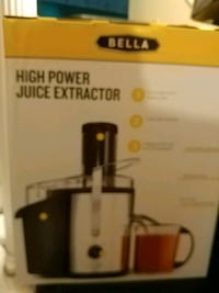 Bella Juice Extractor Richmond, 23236