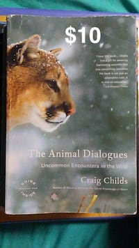 The Animal Dialogues by Craig Childs book Farmington, 87401