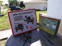 1/8hp compressor and air brush kit