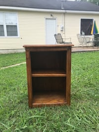 End Table with Shelf(Solid Wood) Medina, 38355