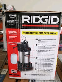RIGID VIRTUALLY SILENT SUMP PUMP