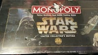 Sealed new star wars limited edition monopoly 1997