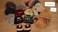 0-6 months lot  19 pc lot boys hats, knitted infant boots Thurmont