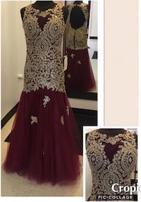 New With Tags Formal Gown Size Medium $205 Indianapolis