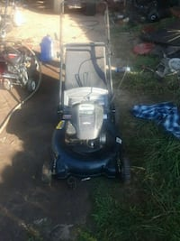 black and blue push mower Fayetteville, 28314