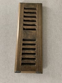 Vent Covers Registers Wood