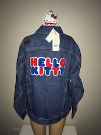 Levi's Hello Kitty Trucker Denim Jean Jacket Women Large New with Tag  Montréal, H4G 1M2