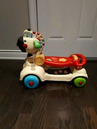 white, red, and green ride on toy Vaughan, L4K
