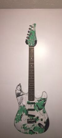 Custom painted guitar Woodbridge, 22193