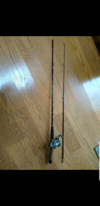 "Garcia Conolon Rod 78"" And fishing reel"