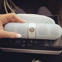 white and gray Beats Pill Cleveland, 44106
