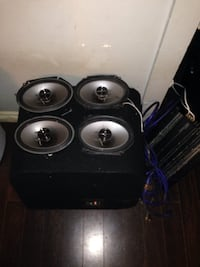 Complete Premium Car Audio Setup Fort Erie, L2A 1N6