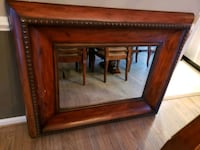 Large wood framed mirror Tysons, 22182