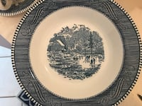 Courier and Ives Stoneware Stone Mountain, 30083