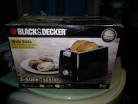 Black & Decker wide slots bread toaster box Germantown
