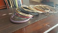 women's assorted bangle bracelets Bryan