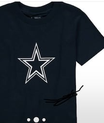 Men's new cowboys shirt asking 15 size xL