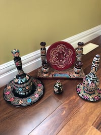 Ukrainian decorative items. Every item is over 50 years old. Willing to sell the entire lot or each piece individually Edmonton, T6R 0B1