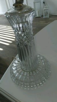 clear cut glass footed vase Corona, 92880