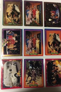 Power ranger cards