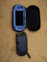 Black PS Vita with case and cover Fairfax, 22033