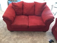 MUST GO! Red sofa & loveseat combo! Florence, 29541