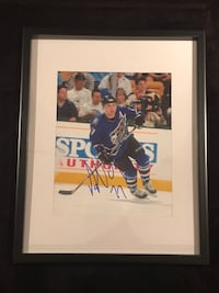 Washington Capitals Adam Oates Signed and framed photo