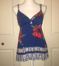 Hollister floral sleeveless top