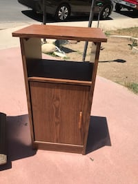 brown wooden cabinet with drawer Bakersfield, 93306